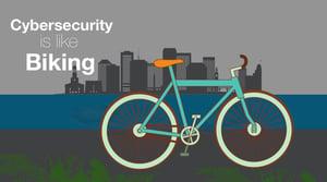How Cybersecurity is like Biking