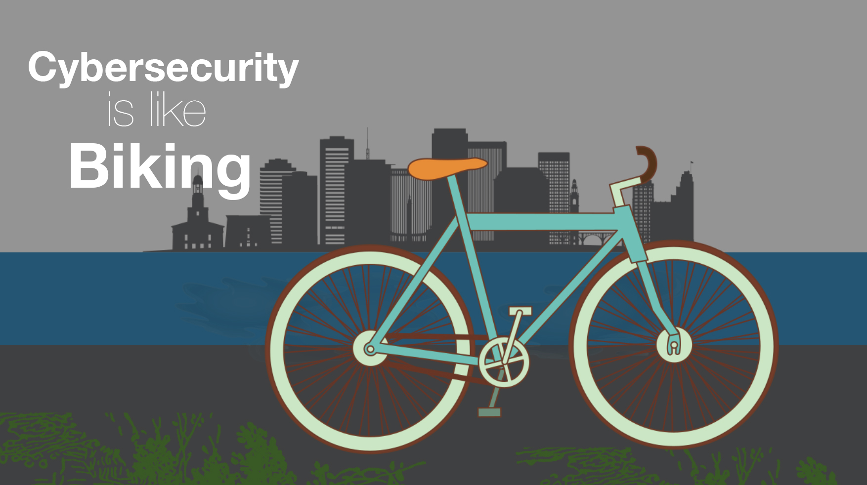 How Cybersecurity is like Biking